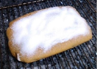 Como hacer Bizcocho de limón sin azúcar, sin harina y singrasas