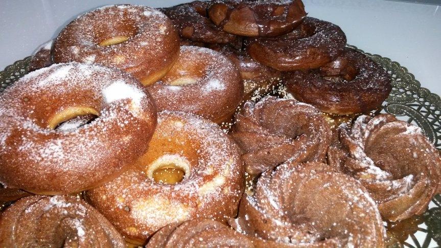 """Dónuts"" caseros SUPERLIGHT, sin harina, sin azúcar y singrasas"