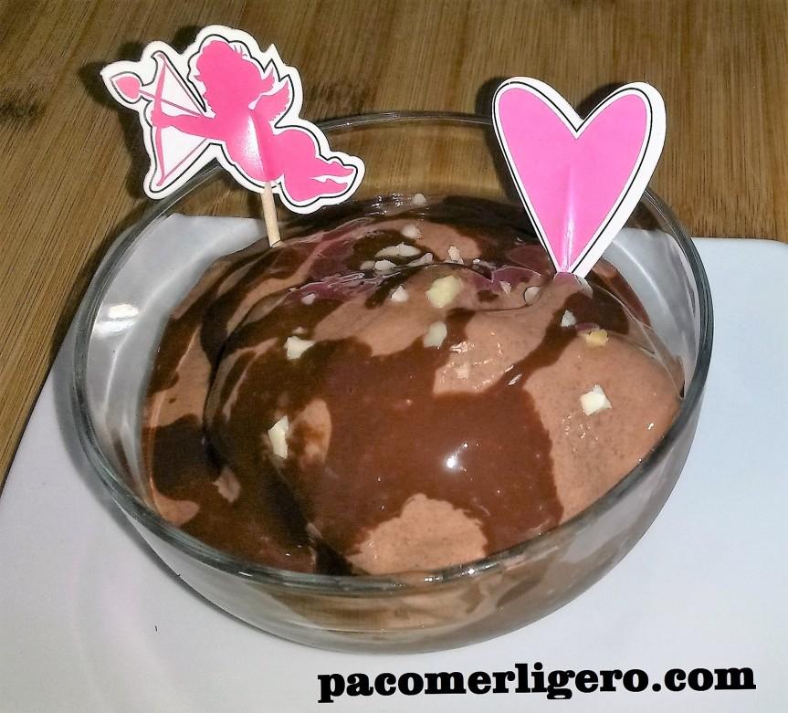 Helado Cremoso LIGHT de Chocolate, sin azúcar nigrasas